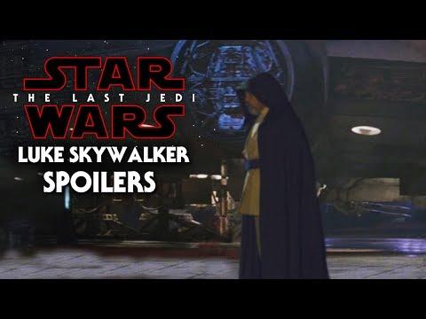 Star Wars The Last Jedi Spoilers Of Luke Skywalker! Exciting News