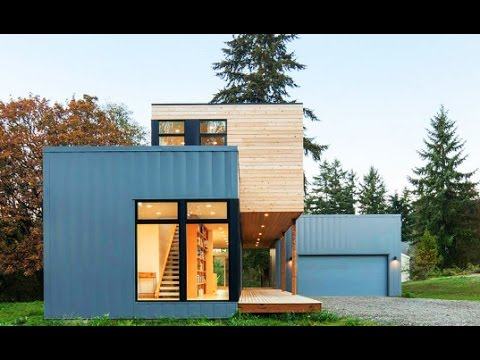 Affordable prefab homes good plain modern prefab homes for Guest house construction cost