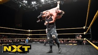 Johnny Gargano vs. Akam vs. Dash Wilder: WWE NXT, March 29, 2017