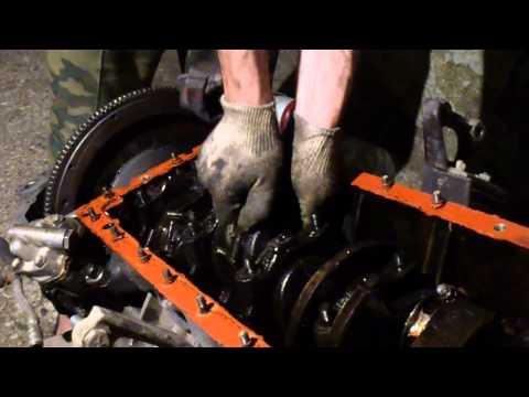 Разбор двигателя  ГАЗ 53