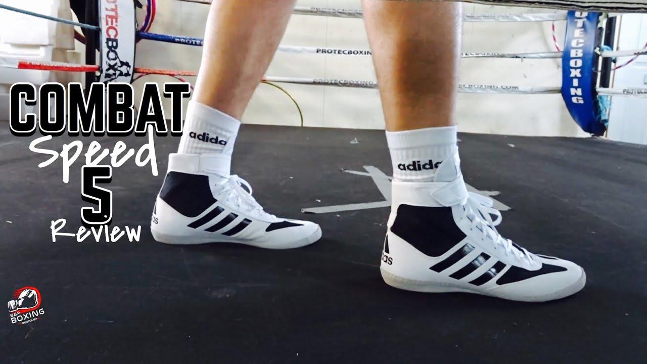Adidas Combat Speed 5 Boxing/Wrestling