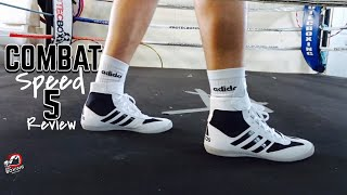 Adidas Combat Speed 5 Boxing/Wrestling Boot Review