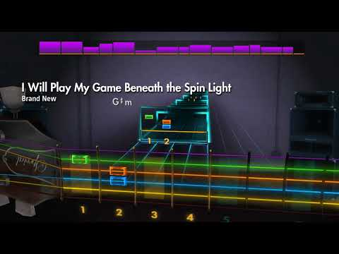 Rocksmith 2014 Remastered CDLC - I Will Play My Game... by Brand New - Lead Guitar |