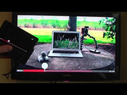 Droid 3 / Moto XT860 HDMI video Out Test.