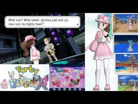 Pokemon X: Pokemon League, Parade, and Credits