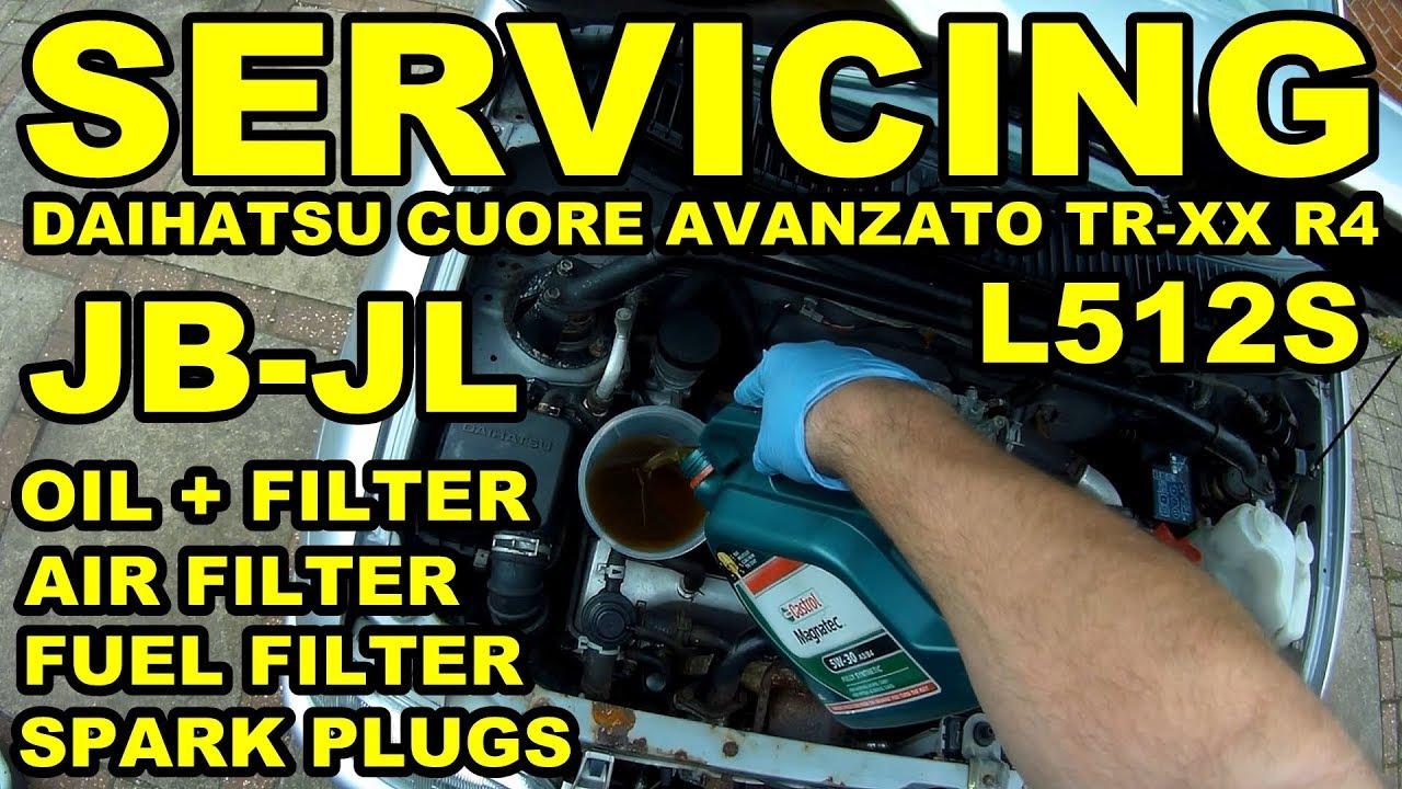Servicing a Daihatsu Mira/Cuore JB-JL Engine - Avanzato TR-XX R4 Project on
