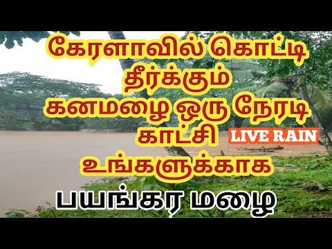 கேரளாவை-கதரவிடும்-கனமழை-ஒரு-நேரடி-காட்சி- -heavy-rain-in-kerala-today-tamil
