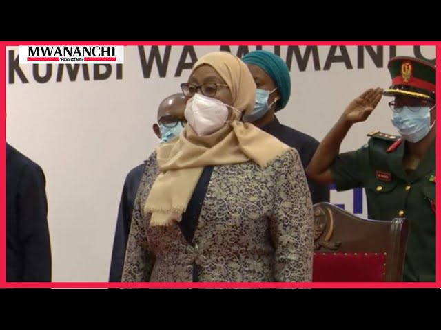#LIVE: Rais Samia akizungumza na wazee wa jiji la Dar es Salaam