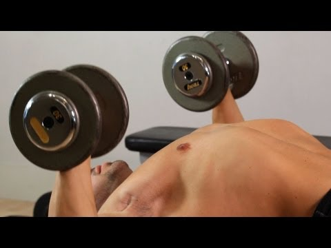 How To Do Stability Ball Dumbbell Press