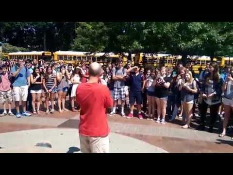 GHS Headmaster Winters ALS Ice Bucket Challenge