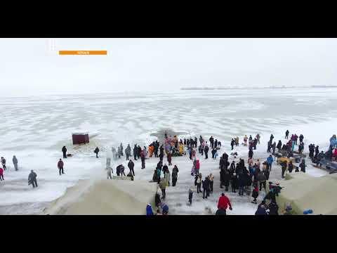 Громадське телебачення: Черкаси: Як черкащани на Водохреща купалися 4k