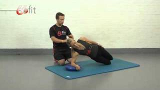 Abdominal and Core Exercises using the 66fit Wobble Cushion - Part 6
