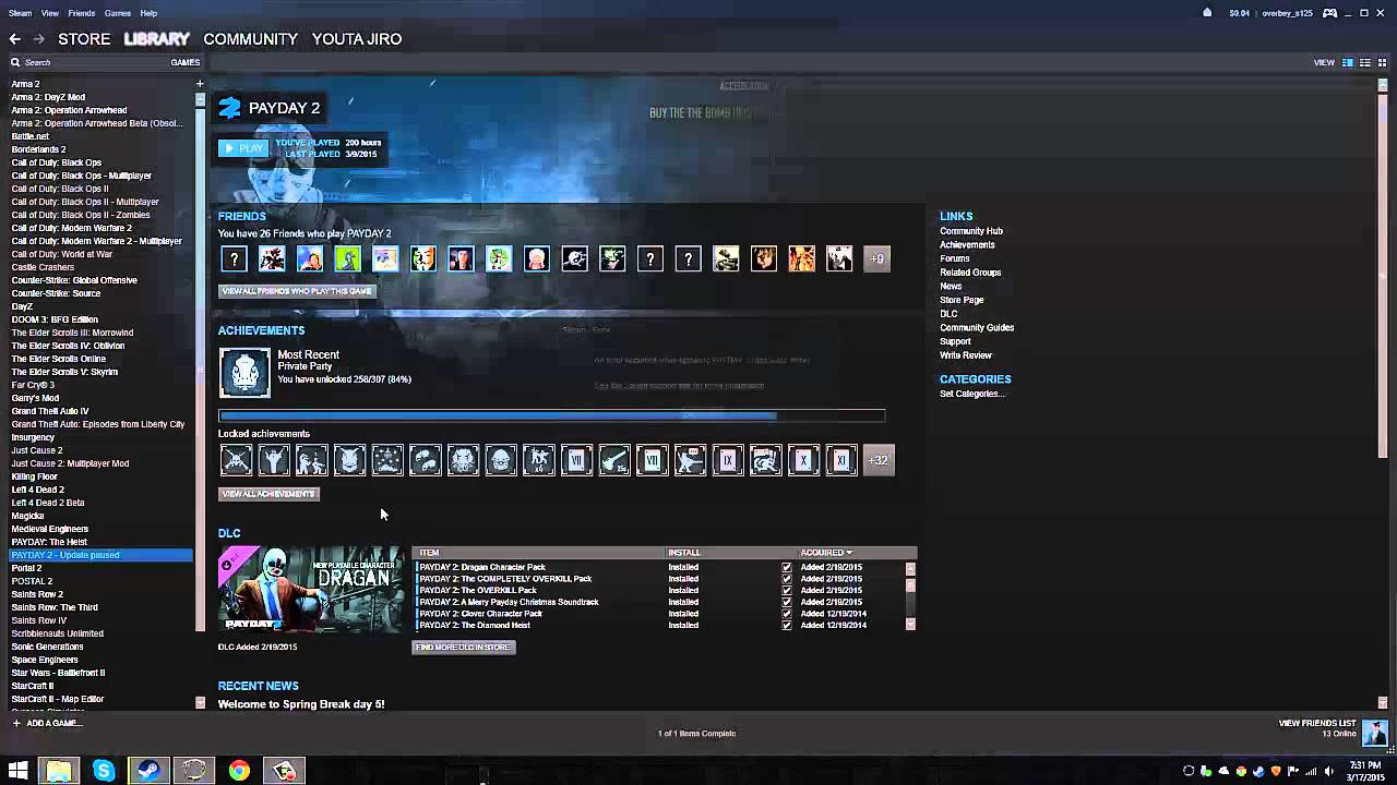 steam payday 2 download stopping