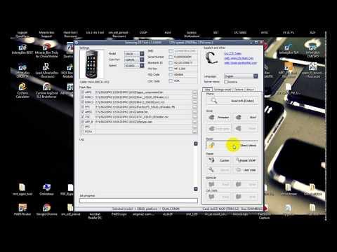 unlock samsung s5620 with z3x box