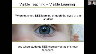 John Hattie: Visible Learning Feedback Webinar
