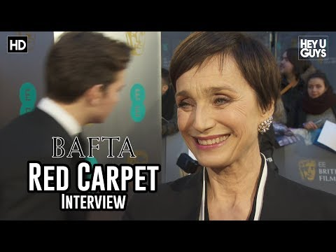 Kristin Scott Thomas Darkest Hour  BAFTA Awards 2018 Red Carpet