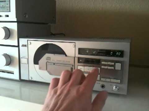 jvc xl v1 cd player youtube. Black Bedroom Furniture Sets. Home Design Ideas
