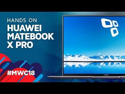 O notebook sem bordas: Huawei Matebook Pro X - TecMundo [MWC 2018]