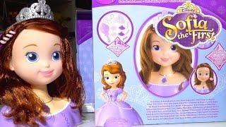 Disney Princess Sofia the First: Sofia Styling Head - Kids' Toys