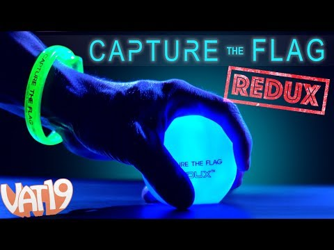Glow in the Dark CAPTURE THE FLAG