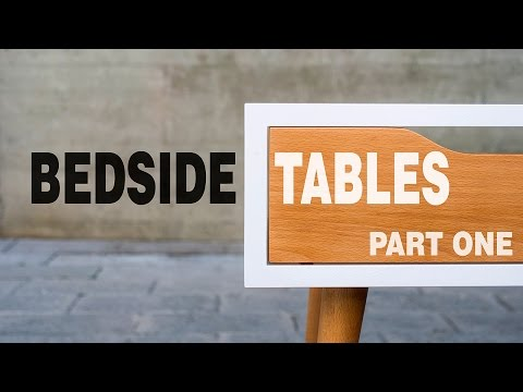 Make Modern Table Night Stand - How to Part 1/3