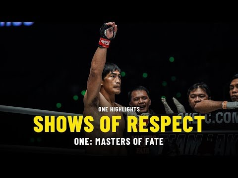 Shows Of Respect | ONE: MASTERS OF FATE