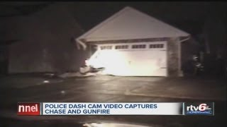 Dash cam captures dramatic police-involved shooting, chase in Lafayette