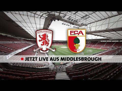 LIVE aus England: Der FC Augsburg testet gegen Middlesbrough FC