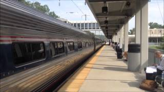 Railfanning at BWI Airport Rail Station and more 7/13/15