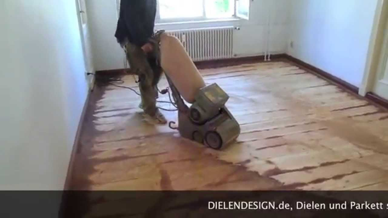 Dielen Schleifen Berlin Youtube