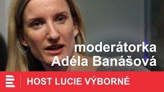 Miluji situace, když se stane nějaký průšvih, přiznává moderátorka Adéla Banášová