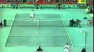 Pete Sampras great shots selection against Petr Korda (C.G.S.C. Munich 1993 SF)