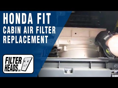 How To Replace Cabin Air Filter Honda Fit Youtube