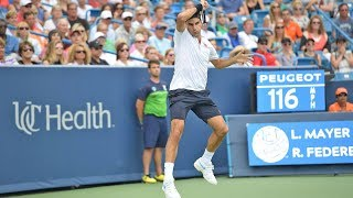 Highlights: Seven-Time Champ Federer Sets Wawrinka QF Clash In Cincinnati 2018