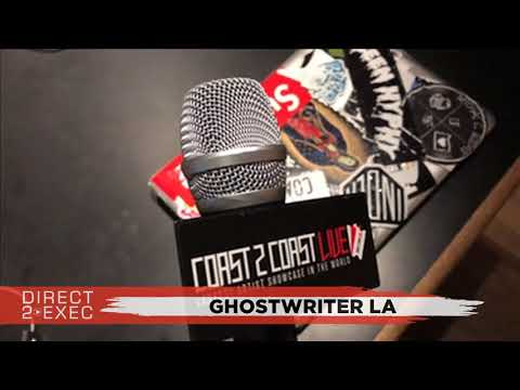 Ghostwriter LA Performs at Direct 2 Exec Los Angeles 12/5/17 - Atlantic Records