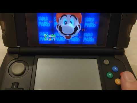 Super Mario 64 3DS Compiled