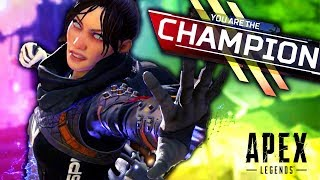 MY FIRST WIN In Apex Legends (The BEST New Battle Royale!)