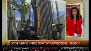 Uncle Sam To Clamp Down On Commodities Trading? - Bloomberg