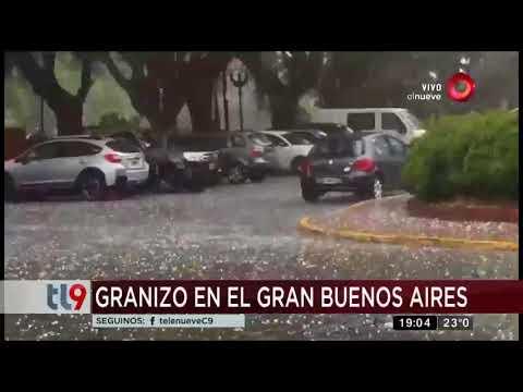 Tormenta de tierra en la autopista Rosario