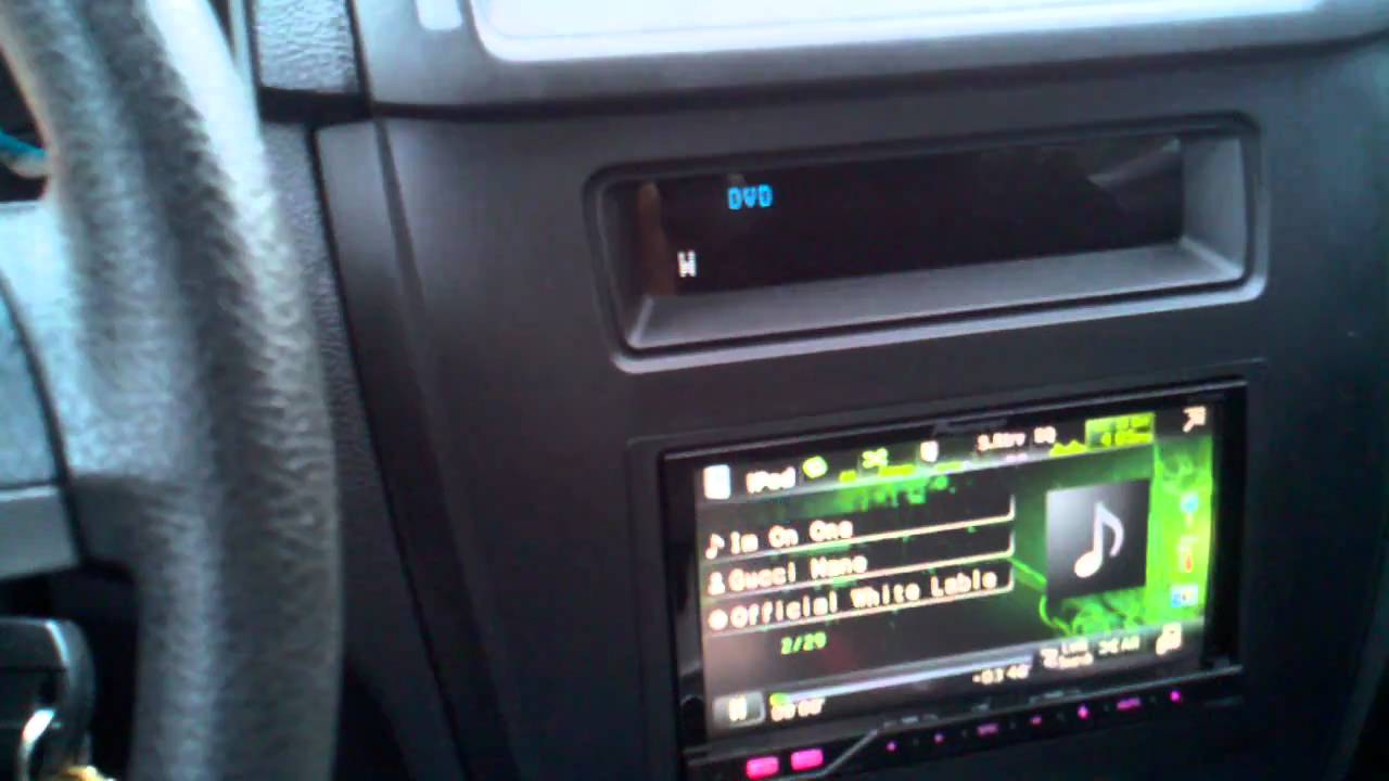 Ford Fusion Pioneer Headunit Youtube