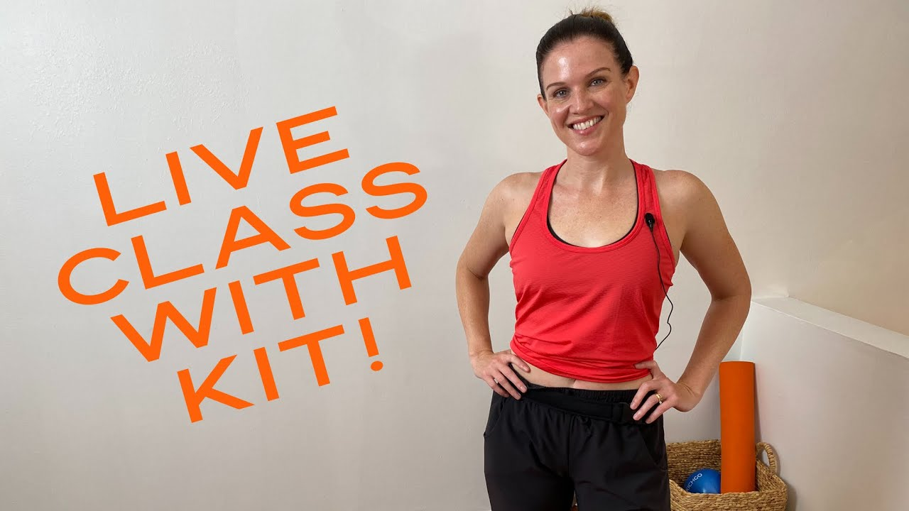 35 min Full Body Pilates Fusion (no equipment) LIVE with Kit Rich #summerminiseries