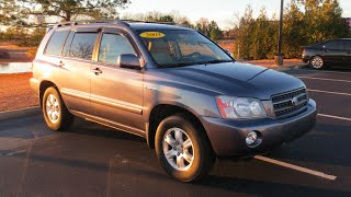 2003 Toyota Highlander Limited Full Tour & Start-up at Massey Toyota