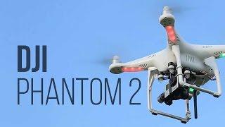 Обзор: квадрокоптер DJI Phantom 2