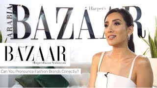Baixar Can You Pronounce Fashion Brands Correctly? | Fashion News Special