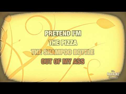 At A Medium Pace in the style of Adam Sandler | Karaoke with Lyrics
