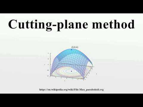 Cutting-plane method