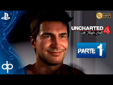 "UNCHARTED 4 - Parte 1 Español ""Gameplay PS4"" 