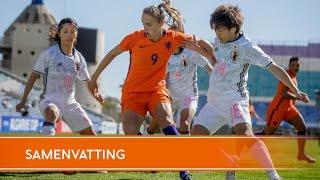 Highlights Japan - Oranjevrouwen (08/03/2017)