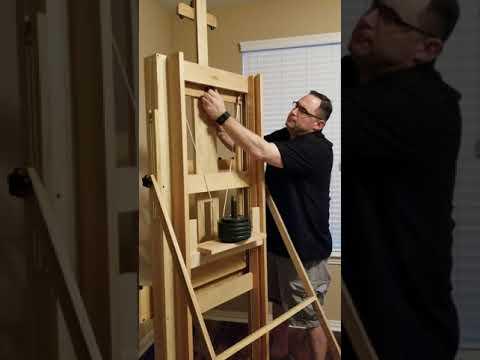 DIY Artist Studio Easel