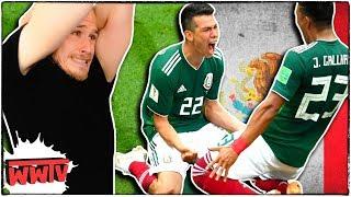 Alemanes Reaccionan a Victoria de México (Mejores Momentos)🔥 México VS Alemania 2018 ✌ WeroWeroTV